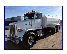 2000 Peterbilt 357 with New Maverick 4,250 Gallon Water System