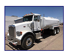 2002 Peterbilt 357 with New Maverick 4,250 Gallon Water System
