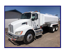 2008 Kenworth T-370 With New Maverick 4000 Gallon Water System