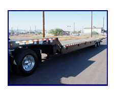 Trail EZE TE-801-48 Hydraulic Slide Axle Trailer