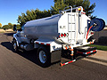 2017 Ford F750 with New Maverick 2000 Gallon Water System